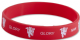 Manchester Utd. FC silicone wristband   (bb)